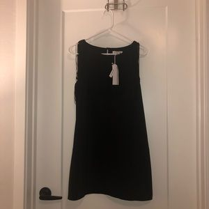 Brand new black fringe mini dress
